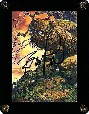 ☆ Bernie Wrightson Swamp Thing Signed Master of the Macabre Trading Card #24 ☆