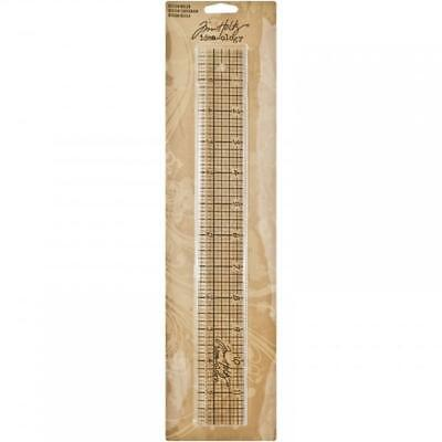 NEW Tim Holtz Acrylic Design Ruler from Art by jenny design shop