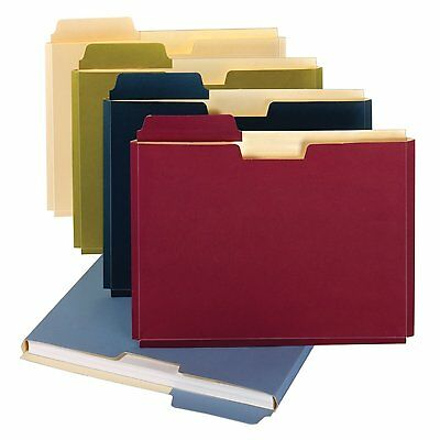 10 Pack Expanding File Folder Pockets Letter Document Paper Storage Office New