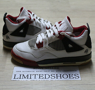 new arrival d6b93 50791 2006 Nike Air Jordan 4 Iv Retro Gs Mars Blackmon Varsity Red 308498-162 Us