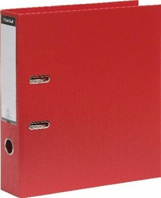 Guildhall large Red Ring Binder File Folder A4 70mm | Pack of 10