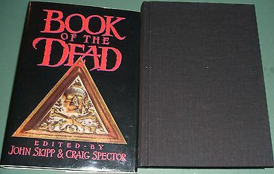 1st Edition Book of the Dead Signed by John Skipp, Craig Spector, Les Daniels