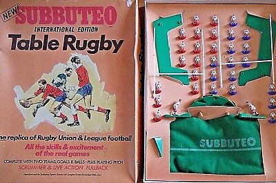Subbuteo Rugby Edition  HULL KR v WORKINGTON Complete Set