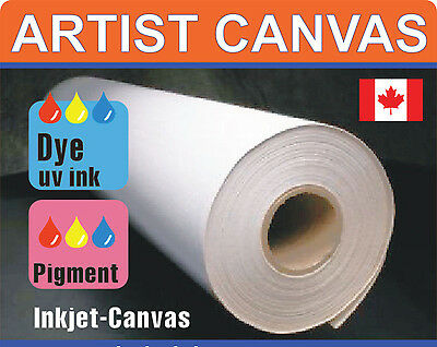 Blank Roll of Fine Quality Matte Art Canvas Artist ARTISTIC Supply for Inkjet