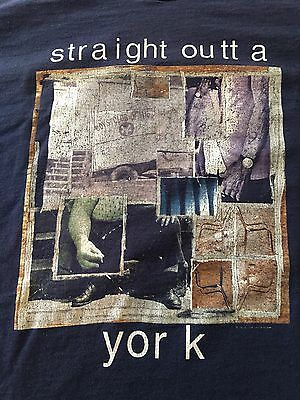 LIVE ( Straight Outta York ) 1996 Tour Shirt Men's XL