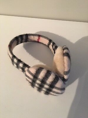 Burberry Earmuffs- One Size. Authentic