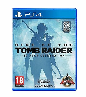 Rise of the Tomb Raider 20 Year Celebration (PS4) Brand New & Sealed UK PAL