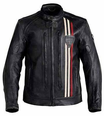 Triumph Mens Raven Leather Jacket Xx-Large
