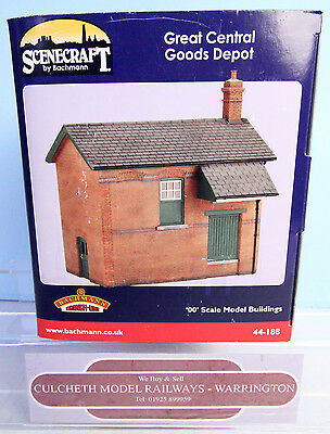 Bachmann Scenecraft 'oo' Gauge 44-188 Great Central Goods Depot Boxed