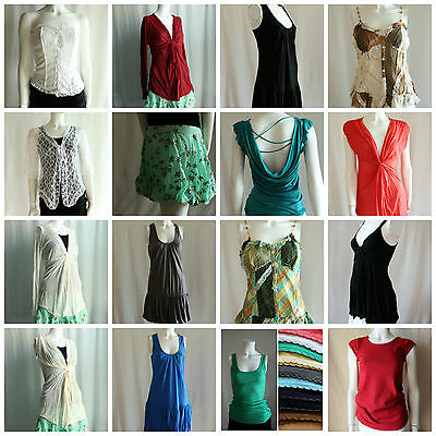 Wholesale Lot 50pc Assorted New Summer Tops Dresses Women's Clothing Liquidation