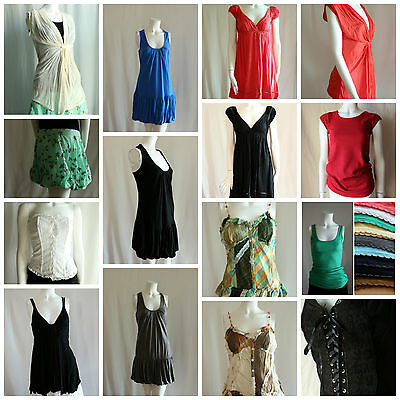 24pc Wholesale Lot New Summer Tops Dresses Mixed Women's Clothing Liquidation