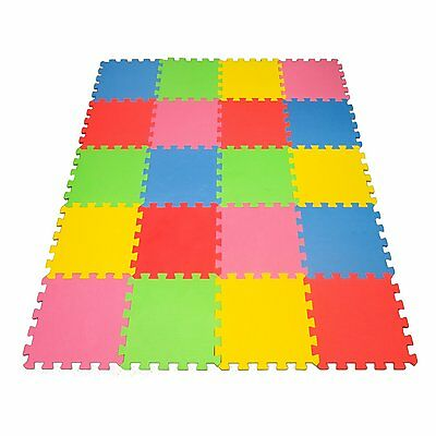 20 XLarge Foam Mat Toy Create & Build A Safe PLay eva Non-Toxic Floor for Infant