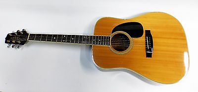 Takamine F-360 S 6 String Acoustic Guitar Vintage Solid Top Pre-owned