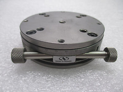 """Newport TR80SBL Precision Rotary Positioning Stage (3.09"""" / 78.6mm)"""