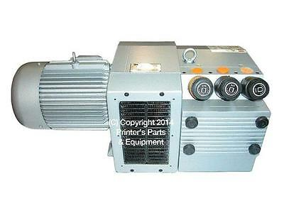 Dry Running Vacuum Pump Compressor Multiple Color Presses 220V Oil less Capacity