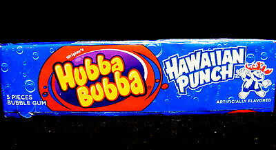 Collectable HUBBA BUBBA HAWAIIAN PUNCH Flavor Gum, One Pack. See Description