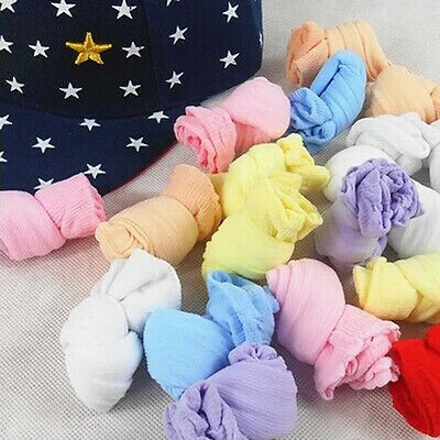 10 Pair Lovely Newborn Baby Girls Boys Soft Socks Mixed Color Unique Design ft