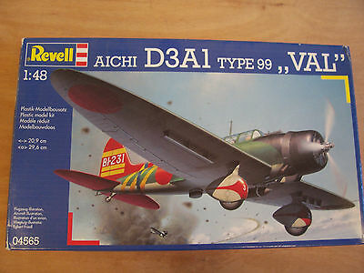 """Revell 04565 - Aichi D3A1 Type 99 """"VAL"""" - 1:48 OVP"""