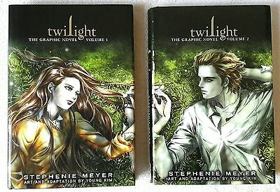 Twilight: The Graphic Novel, Volume 1 & 2 by Stephenie Meyer