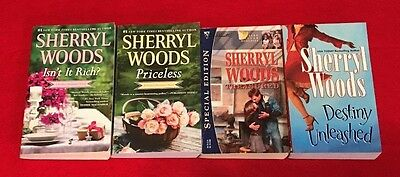 LOT of 4 THE PERFECT DESTINIES ROMANCES by SHERRYL WOODS, Destiny Unleashed