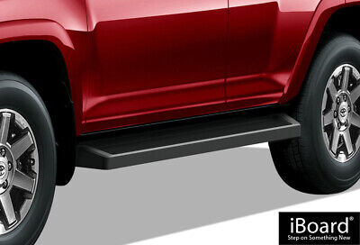 iBoard Black Running Boards Style Fit 10-18 Toyota 4Runner Limited