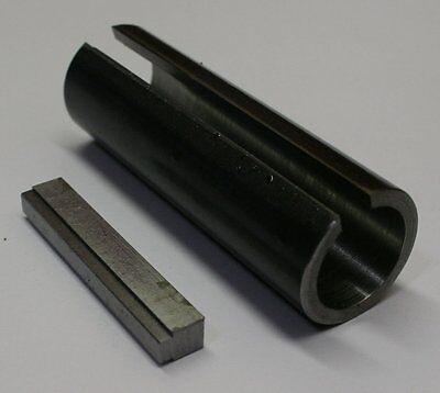 "3/4 - 1"" Shaft Adapter Sleeve Predator with 1/4"" Key Pulley"