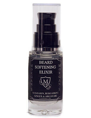 Morgans Mens Beard Softening Elixir Conditioning Oil 30ml Bottle