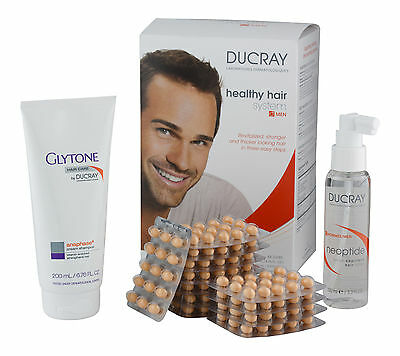 Ducray Healthy Hair System Men. Sealed Fresh