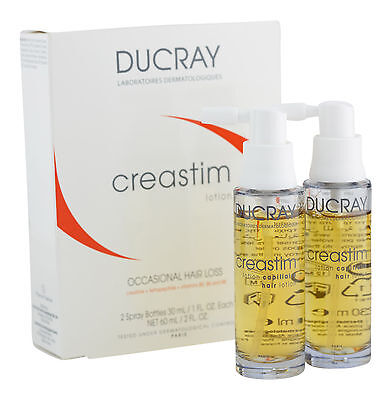 Ducray Creastim Hair Lotion 30 ml 2 ct. Sealed Fresh