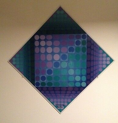 Victor VASARELY signed