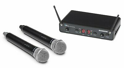 Samson Concert 288 Handheld Dual-Channel Wireless Micrphone System - I Band
