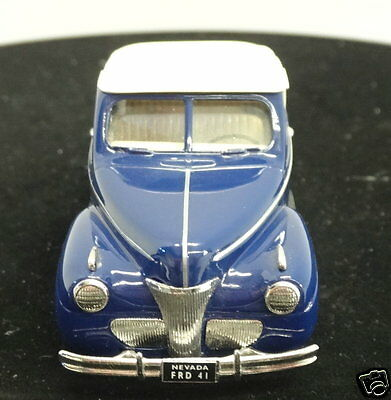 1/43 Scale Durham Classics DC-21A 1941 Ford Top-up in Blue