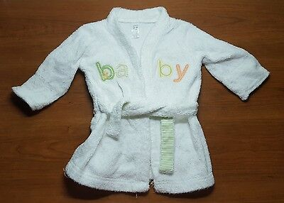 Baby Girl Boy Infant Newborn Clothes Kids Kimono Shower Towell White Yellow