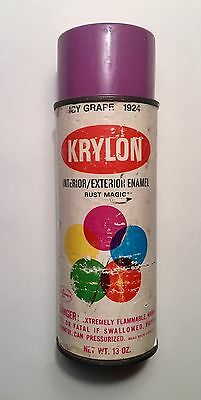Krylon ICY GRAPE Vintage Spray Paint Can