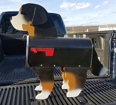 Bernese Mt. Dog Mailbox - Lancaster County, PA