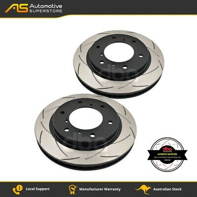 DBA660S Brake Disc Rotor Pair 4X4 Survival Series T2 Slotted DBA
