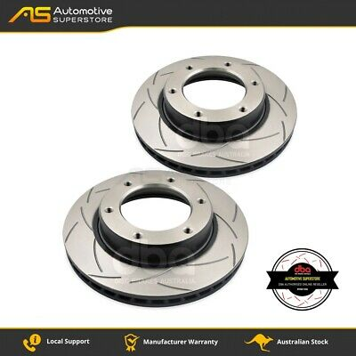 DBA782S Brake Disc Rotor Pair 4X4 Survival Series T2 Slotted DBA
