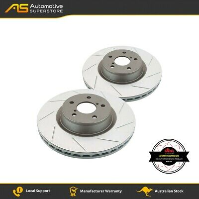 DBA786S Brake Disc Rotor Pair 4X4 Survival Series T2 Slotted DBA