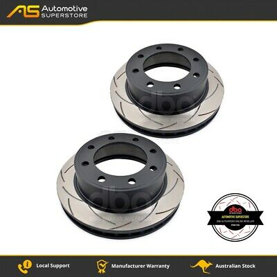 DBA798S Brake Disc Rotor Pair 4X4 Survival Series T2 Slotted DBA