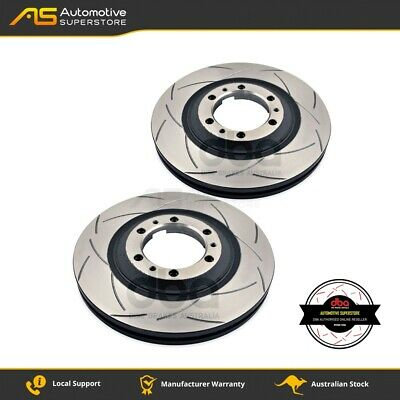 DBA840S Brake Disc Rotor Pair 4X4 Survival Series T2 Slotted DBA