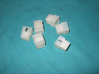 Lot Of 6  Molex  9 Pos. Rectangular Housing Plug  03-06-2092  New