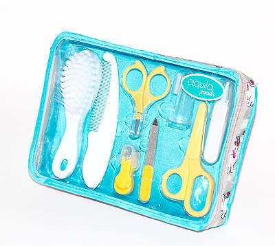 Baby Grooming and Healthcare Kit and Travel Case,10 piece BRAND NEW