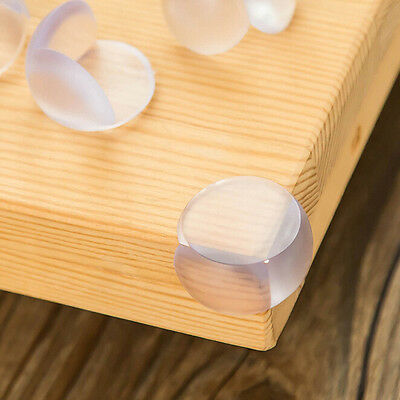 5Pc Baby Safe Silicone Transparent Table Angle Corner Edge Protection Cover