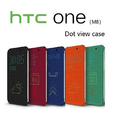 GENUINE OFFICIAL HTC DOT VIEW CASE COVER FOR HTC ONE M8 M9 E9 M9+ M8S Me A9