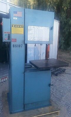 Doall vertical band saw 2013-V