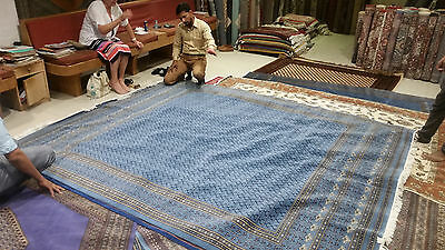 8 x 10ft finest bokhara rug from agra