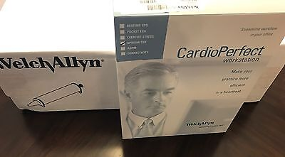 New Welch Allyn CardioPerfect Spirometer Kit With Calibration Syringe SPIRO-S