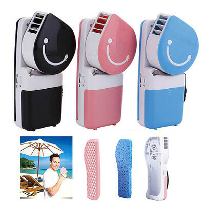 Rechargeable USB Mini Portable Pocket Cooling Fan Air HandHeld Travel Cool Fan