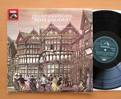 CSD 3781 Greensleeves To A Ground David Munrow Early Music Consort NM/EX Quad
