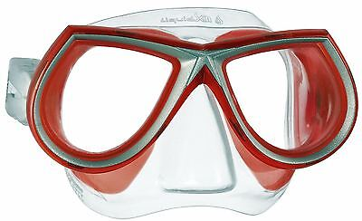 Mares STAR Liquid Skin Low Volume Diving, Freedive, Mask Red - CLOSE OUT PRICE